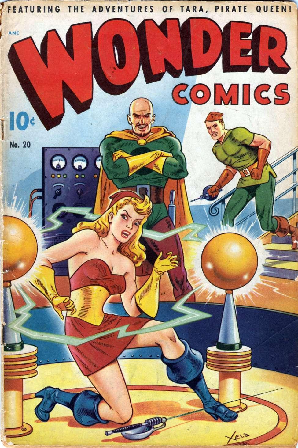 Wonder Comics #20, Pines