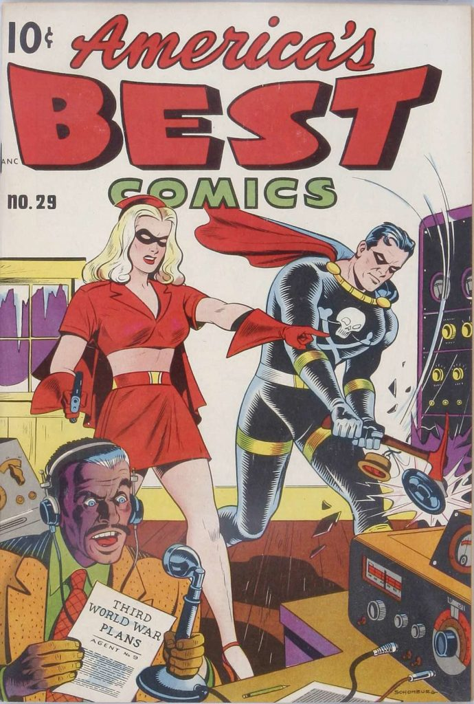 America's Best Comics #29, Pines