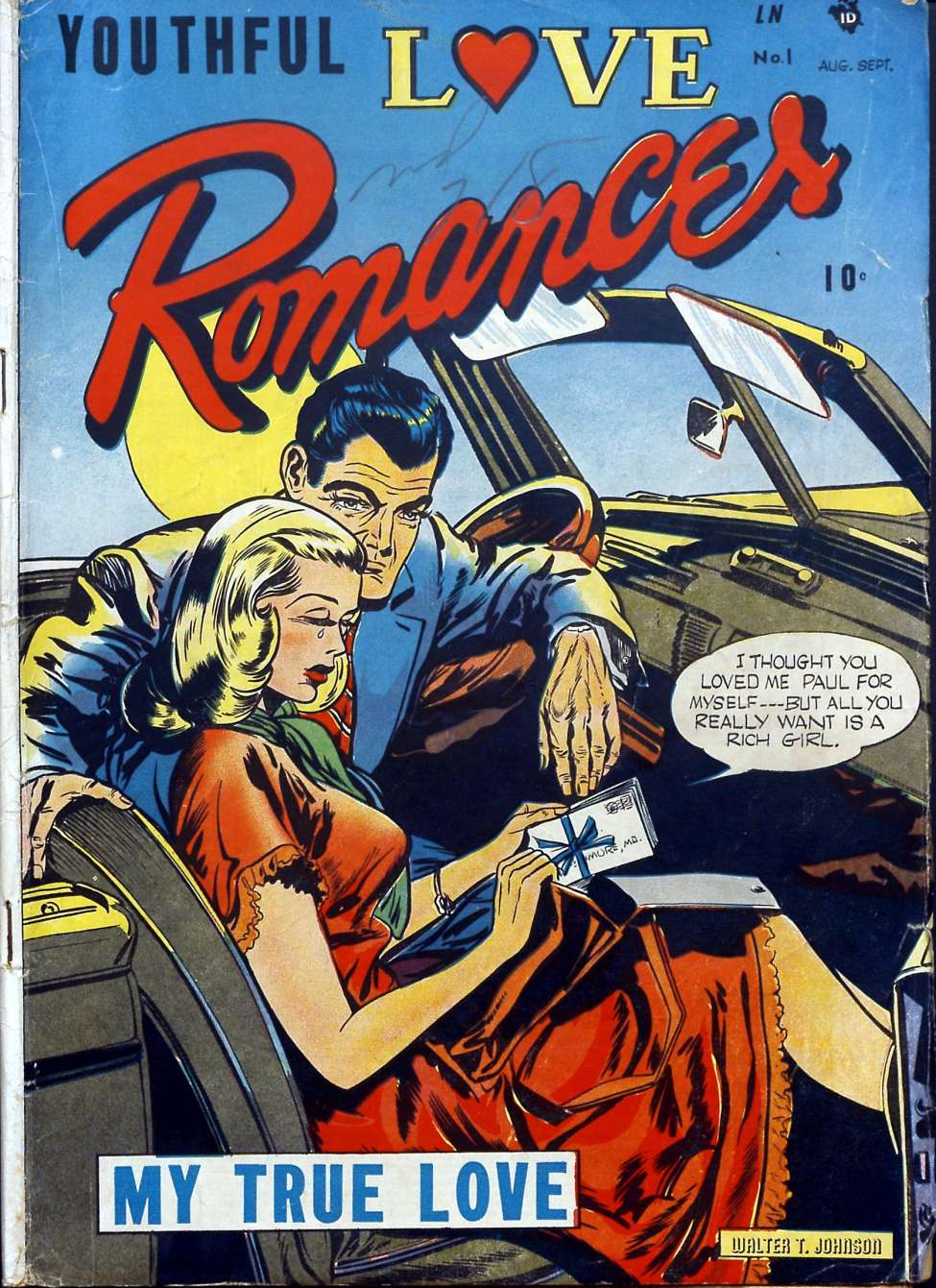 Youthful Love Romances #1, Youthful Magazines