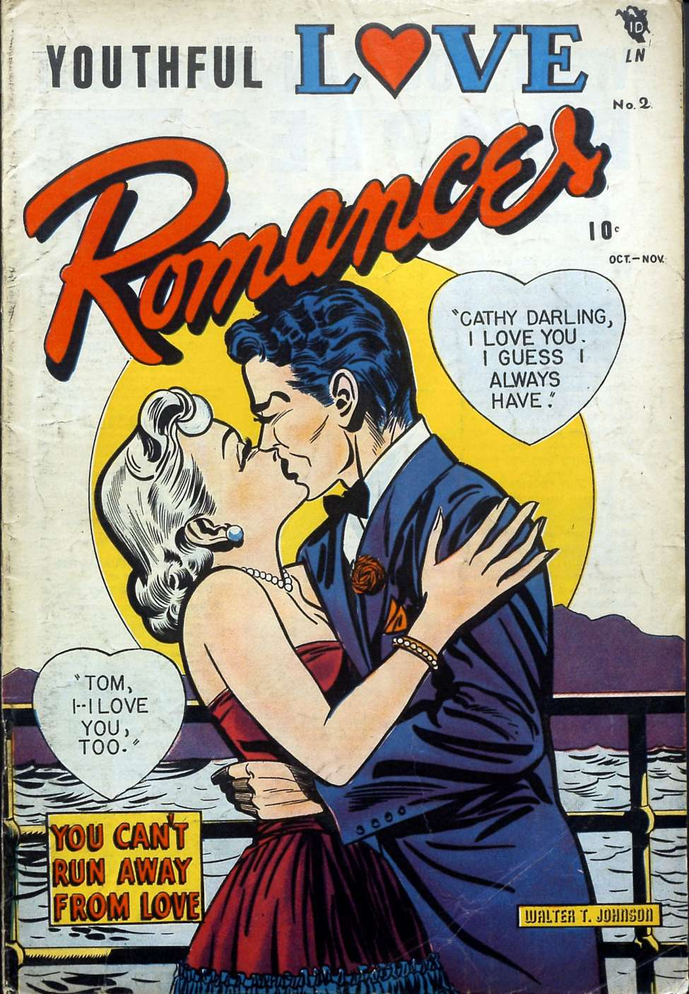 Youthful Love Romances #2, Youthful Magazines