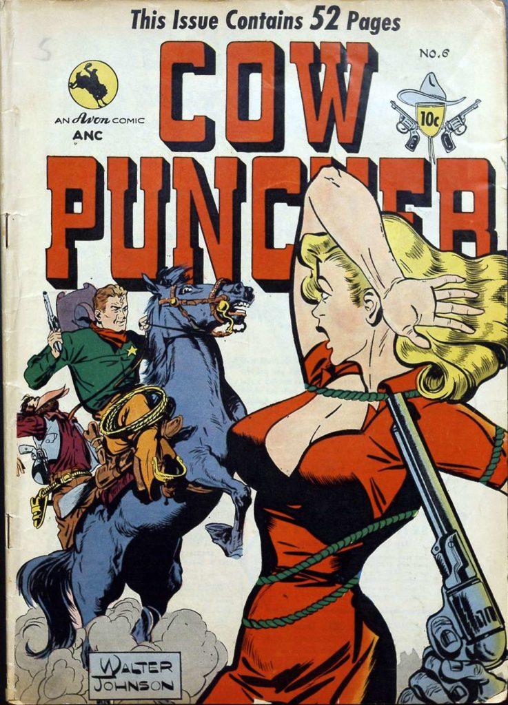 Cow Puncher #6, Avon