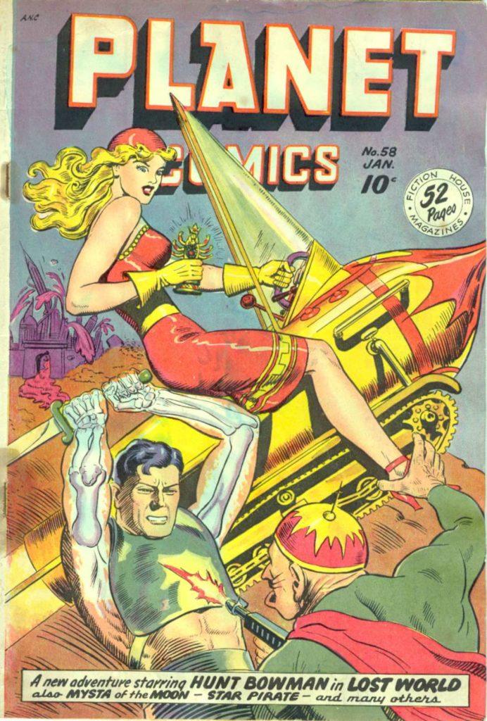 Planet Comics #58, Fiction House
