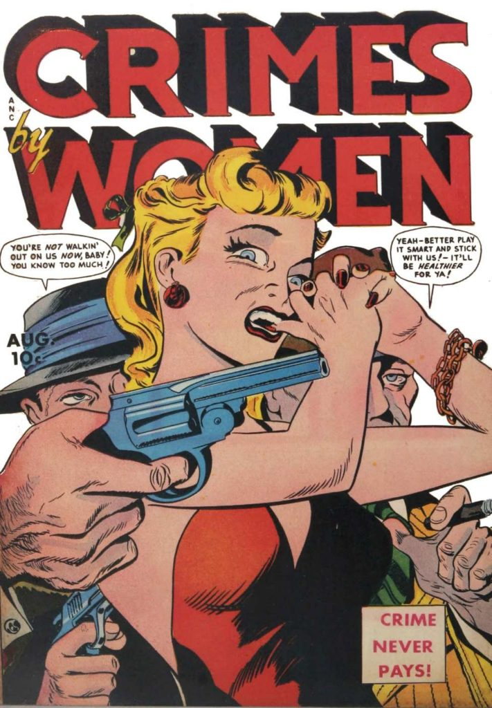 Crimes By Women #8, Fox Features