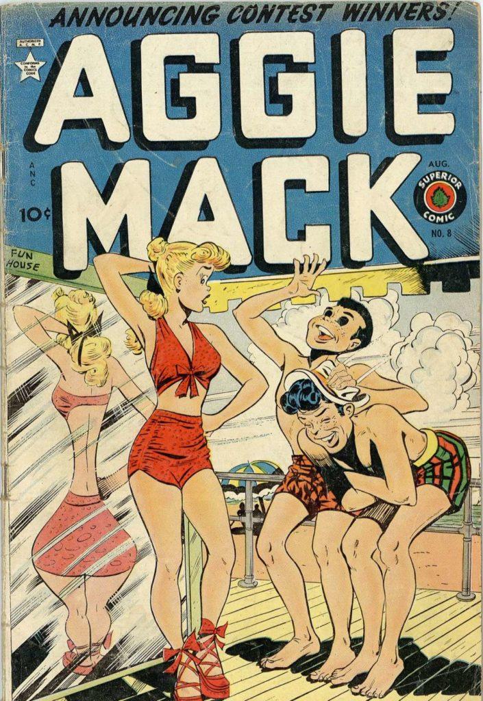 Aggie Mack #8, Superior Comics
