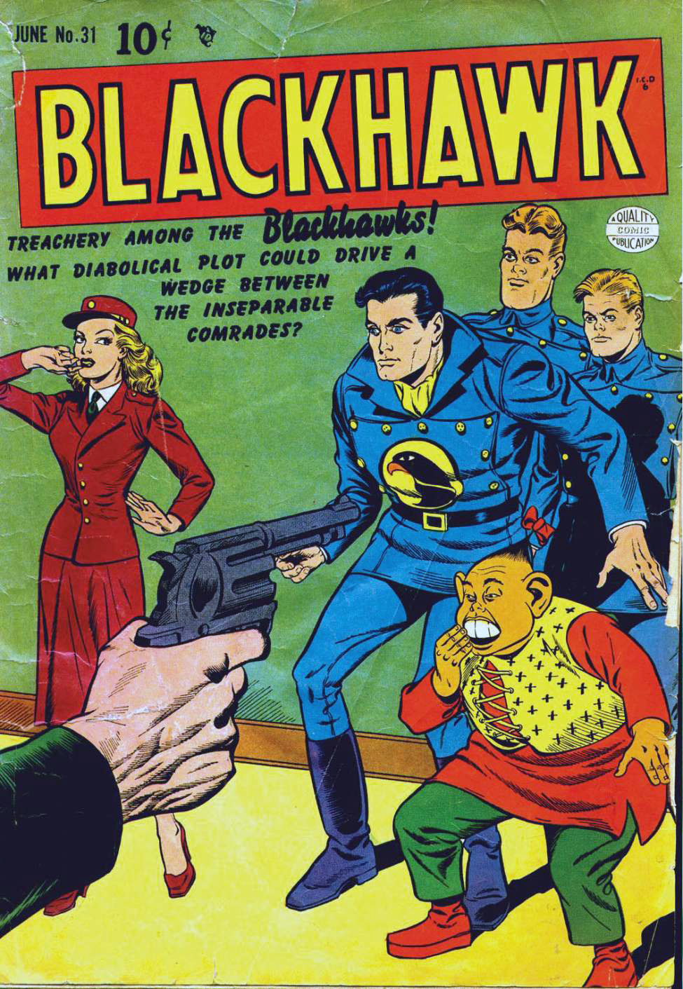 Blackhawk #31, Quality