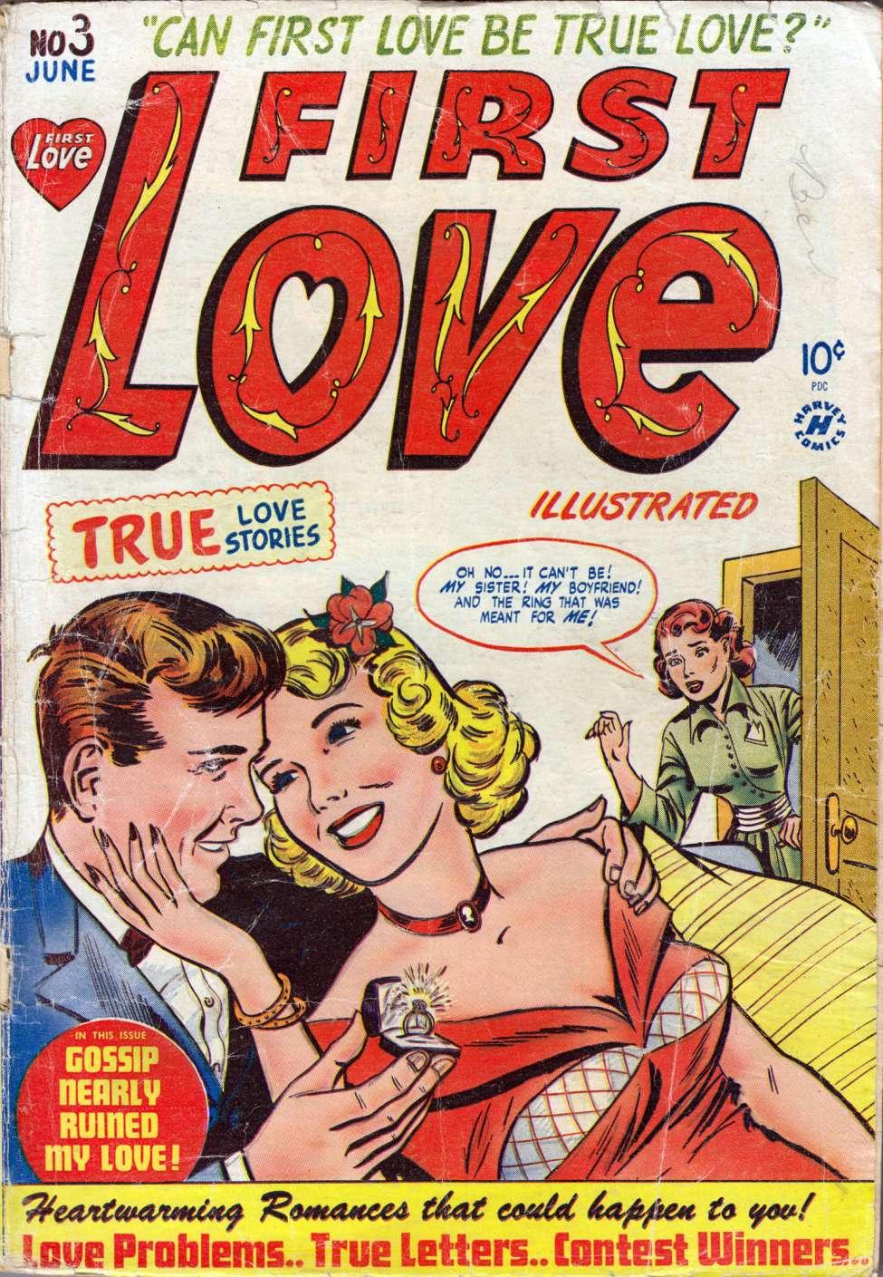 First Love Illustrated #3, Harvey Comics