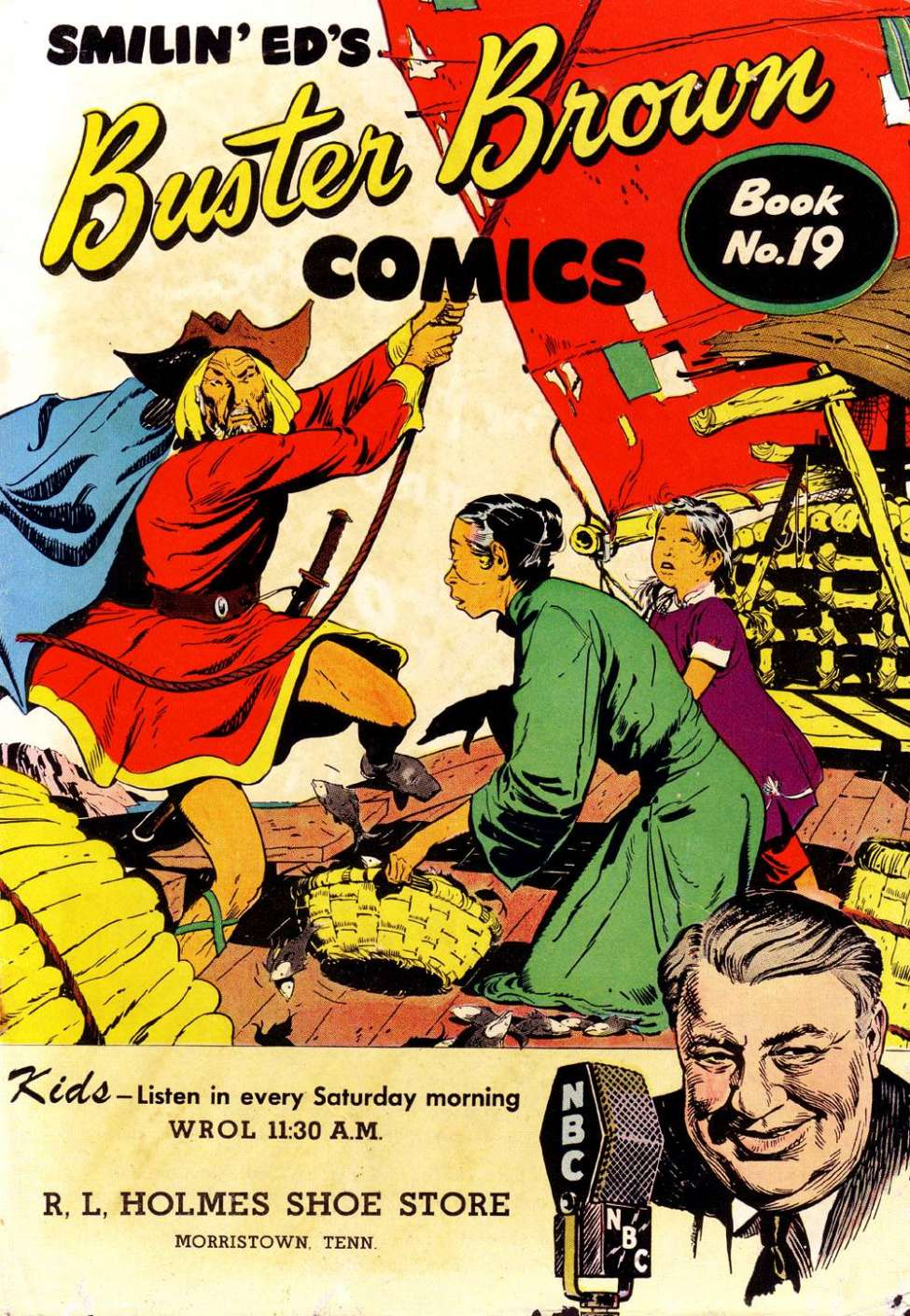 Buster Brown Comics #19, The Brown Shoe Company
