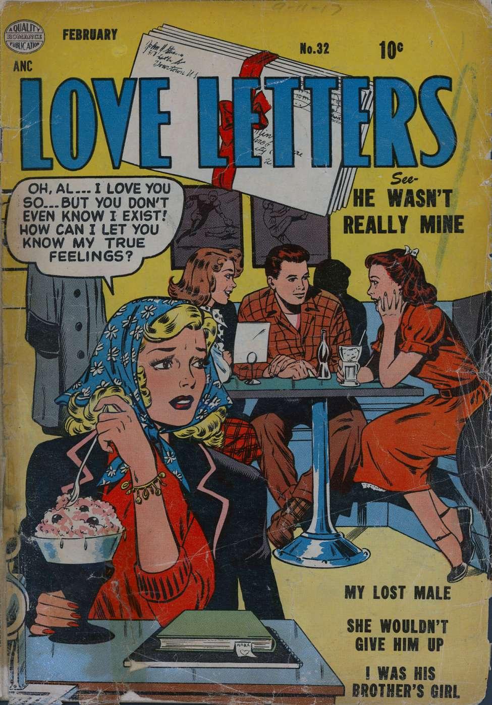 Love Letters #32, Quality Comics