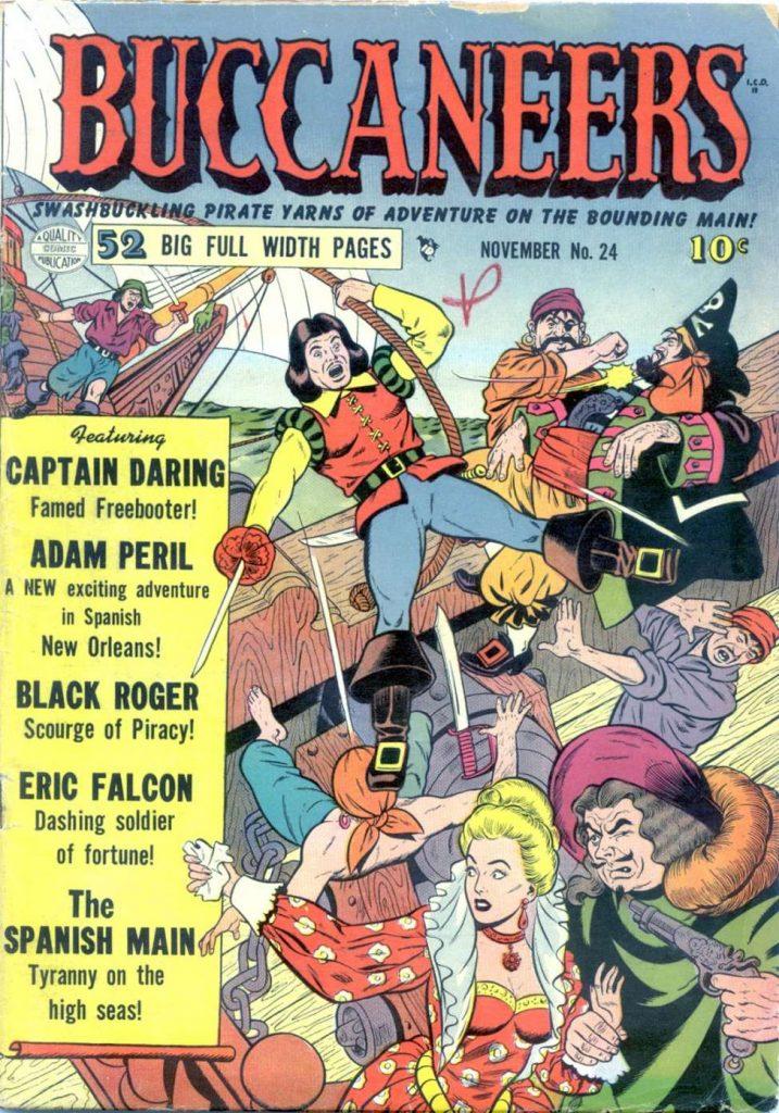 Buccaneers #24, Quality Comics