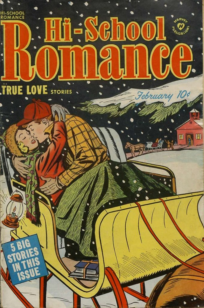 Hi-School Romance #7, Harvey Comics