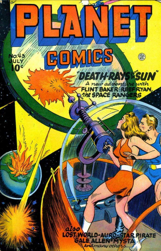 Planet Comics #43, Fiction House