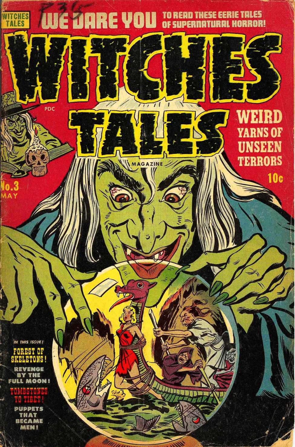 Witches Tales #3, Harvey